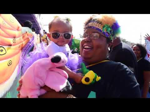 Zulu rolls and marvels on Mardi Gras 2018