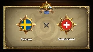 SWE vs CHE, game 1