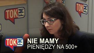 Gasiuk-Pihowicz: 500+ to program 500 zł długu na każde dziecko