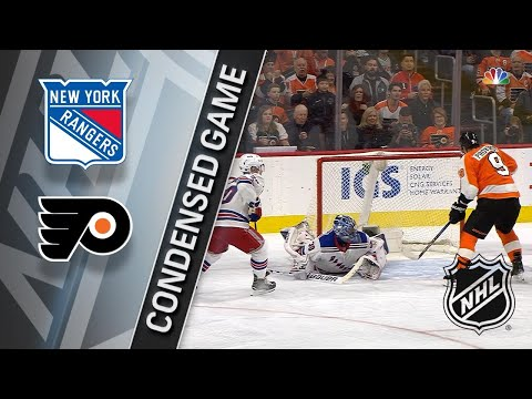 04/07/18 Condensed Game: Rangers @ Flyers