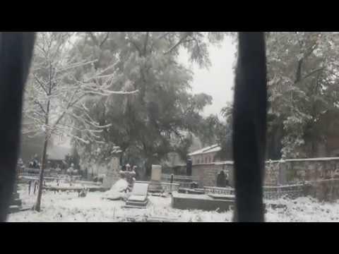 Cнег в апреле в Кишинёве.Погода  что с тобой не так?