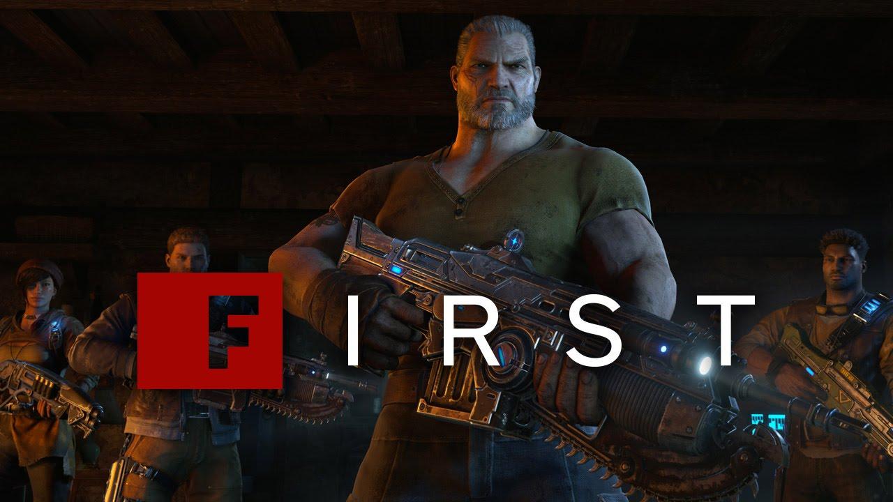 Gears of War 4 Deebee Campaign Footage