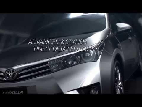 คลิปโฆษณา All New Toyota Corolla Altis 2014 TVC ล่าสุดกับเวอร์ชั่นอินโดนีเซีย
