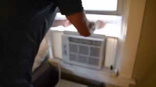 How to install window air conditioner | Installing window AC unit