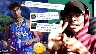 The Comments FLAMED HIM! | Blueface Respect My Crypn | Reaction