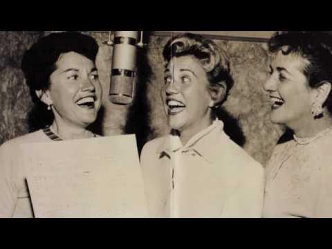 Tekst piosenki The Andrews Sisters - Ferryboat Serenade po polsku