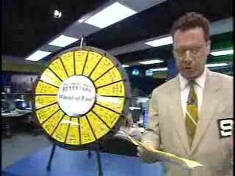 WGN Morning News Skip Parker Wheel of Fun Video