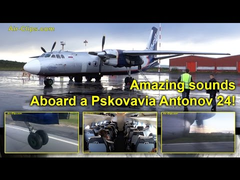 This flight was operated by Pskovavia...