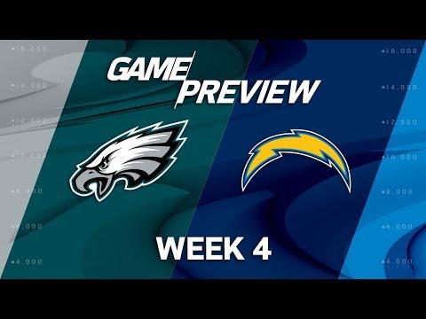 Video: Philadelphia Eagles vs. Los Angeles Chargers | Week 4 Game Preview | NFL