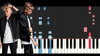 Marcus & Martinus - Make You Believe In Love (Piano Tutorial)