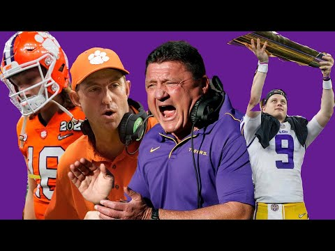 LSU Wins The National Championship! Best CFB Season Ever? The Bengals NEED To Draft Joe Burrow!