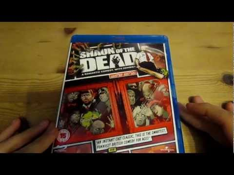 Shaun Of The Dead Blu-Ray Unboxing