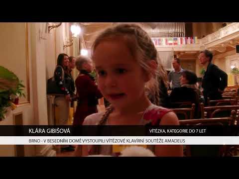 TV Brno 1: 6.11.2017 V Besedním domě vystoupili vítězové klavírní soutěže Amadeus