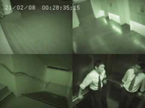 Alien catch in security camera.wmv