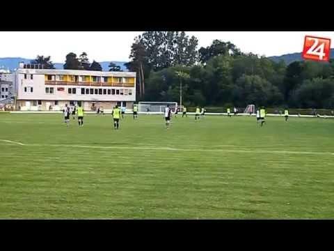 Futbalový zápas Rožňava - Krompachy 3:1