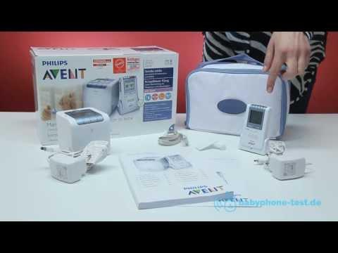 Цифровая радионяня Philips Avent, датчик влажности, температуры  и звука