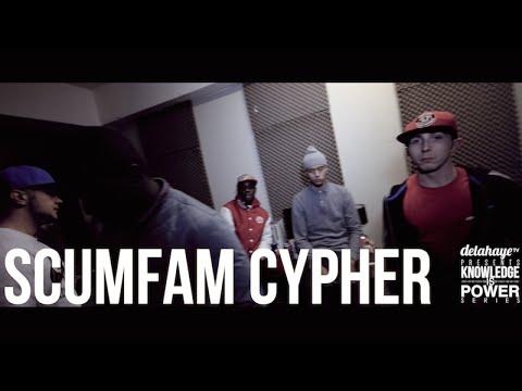 SCUMFAM CYPHER   DLHTV X K.I.P @KIPPromotions @DeLaHayeTV