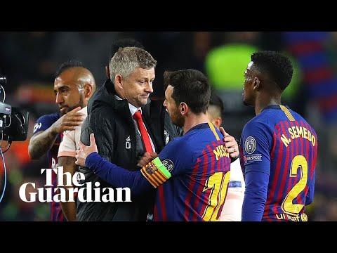 Solskjær admits Manchester United face 'rebuilding job' after Barcelona defeat