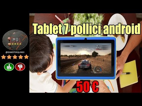 🎬AMAZON► Tablet 7 pollici android kitkat 4.4.2 a meno di 50 euro(ITA)