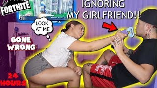 IGNORING MY LATINA GIRLFRIEND FOR 24 HOURS! *PRANK* (SHE PULLS A TASER OUT)