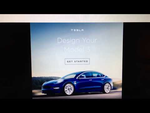 First non-Tesla owner to order a Model 3