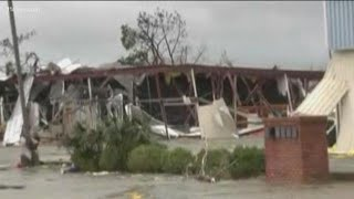 Hurricane Michael: Live look at damage near Panama City Beach, Florida