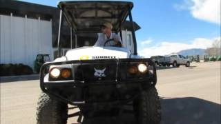 6. For Sale 2008 Bobcat 2200S 4WD Industrial 4 Seat UTV Cart w/ Dump bidadoo.com