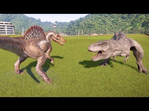 giganotosaurus vs indominus rex tamed wild ark survival