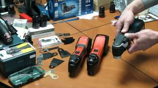 FEIN MultiMaster AFMM 14 & FEIN SuperCut AFSC 18 & Bosch GOP 18 V-EC. Часть 01.