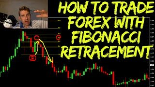 Forex Trading: Fibonacci Retracement Techniques  http://www.financial-spread-betting.com/academy/fibonacci-retracements.html  Fibonacci in Forex. PLEASE LIKE AND SHARE THIS VIDEO SO WE CAN DO MORE!  Fibonacci is a sequence of numbers that occurs quite frequently in nature.  Let's consider Fibonacci Retracements here; the idea is to use fibonacci retracements on two clear levels so a high and a low.  You put your retracement onto the low and drag it up the high and then you see what you've got.  That's all very nice and good but how do we use it for our trading and how can we use fibonacci to help us in our trading?  We explain how to use fibonacci retracement in forex.  All these tools guys are a way of framing your trade...
