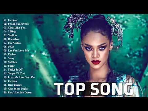 Pop 2019 Hits | Rihanna, Maroon 5, Taylor Swift, Ed Sheeran, Adele, Shawn Mendes, Sam Smith