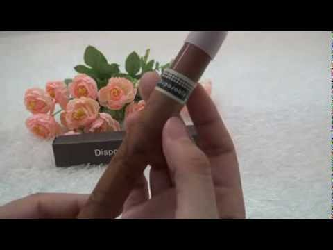 Disposable Cigar Electronic Cigarette Review