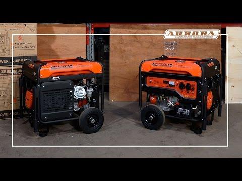 Бензиновые электростанции Aurora AGE 8500 – 7.5 кВт в удобном формате
