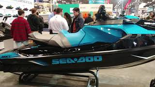 10. 2018 SEA DOO PERFORMANCE RXT 230 PERSONAL WATERCRAFT @ NY BOAT SHOW