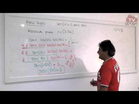 Dica de Matemática - Trigonometria: Arco duplo
