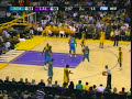 Kobe says &quot;watch this&quot; to a fan and sinks it