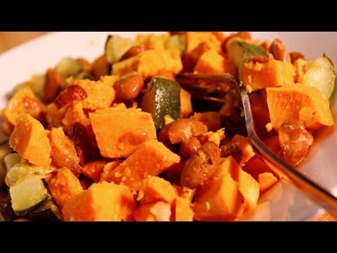 Healthy Baked Sweet Potato Recipe – Healthy Vegan Video Recipes