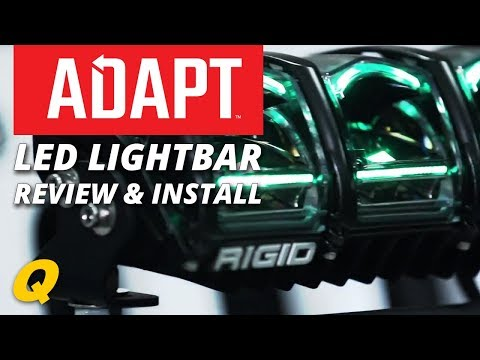 Rigid Industries Adapt Led Lightbar Install On Jeep Wrangler Jk