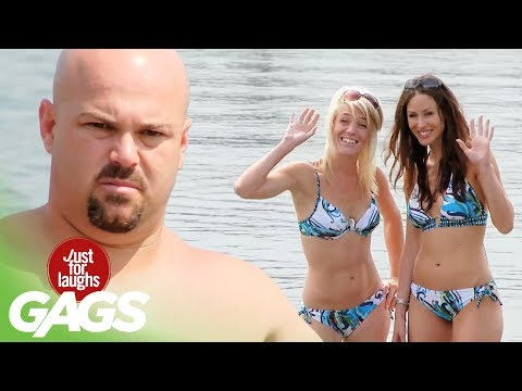 Beach Bunny Photo Session Fart Prank