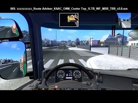 Route Advisor Mod Collection v3.0