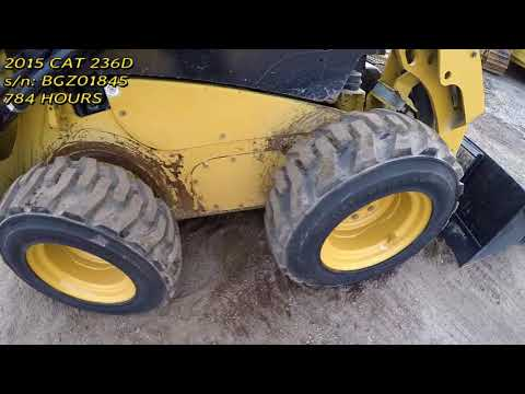 CATERPILLAR MINICARGADORAS 236D equipment video sIXZU84IbeQ