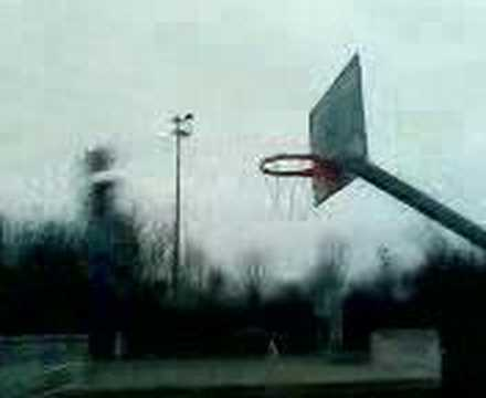 Bp dunks hard but misses