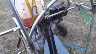 7. Quad paramotor engine Honda Silver wing aircraft conversion