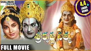 Sri Krishna Satya Telugu Full Length Movie || NTR, Jayalalitha