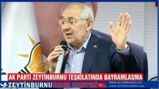 AK Parti Zeytinburnu Teşkilatında Bayramlaşma