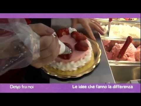 torta gelato alla fragola - ricetta