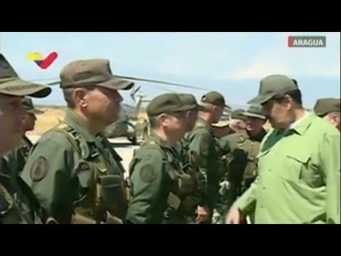 Βενεζουέλα: Επίδειξη δύναμης από τον Νικολάς Μαδούρο