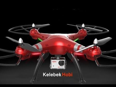 HD Kamerali | AH Altitude Hold Mode | Büyük Drone
