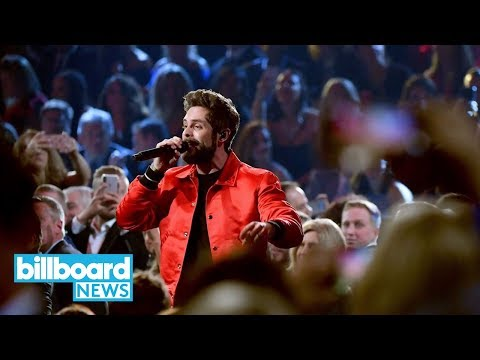 Video Thomas Rhett Performs