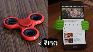 Hey Guys! In this video, i will show you TOP 5 VEST GADGETS taht you can buy under 150rs so make sure you watch this till the end for the awesome budget tech shopping listPrices may vary:Mobile Holder - http://amzn.to/2uXMctGSelfie Flash - http://amzn.to/2u5pCD6Fidget Spinner - http://amzn.to/2tVJB6LJack Splitter - http://amzn.to/2t14ZTHUSB BULB - http://amzn.to/2tZpiEZ**SPONSORED APPS/LINKS**iMyFone Umate Pro:https://goo.gl/mmosB5 https://www.facebook.com/imyfone/ Are we friends on Facebook? - https://fb.me/NamanChhabraYT (I am always active, almost)Follow me on Instagram: http://instagram.com/NamanChhabra_ (For some Instagram exclusive giveaways!)Follow me on Twitter: http://twitter.com/pingNaman (I don't use it that much)----------------------------------------------------(C)2017  Naman Chhabra
